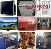 Куплю Телевызор, Кондиционеры,  Холодилники,  Газ плиты.ТEL:90 979-05-21